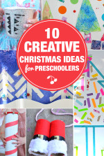 10 Creative Christmas Art Activities for Preschoolers