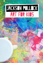 Jackson Pollock Art Mural for Kids