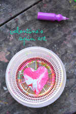Spin Art Hearts – No Mess Art Projects for Kids