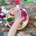Simple summer fun for kids - flower potions