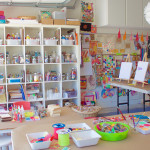 Art Studio for Kids - I want to go here!