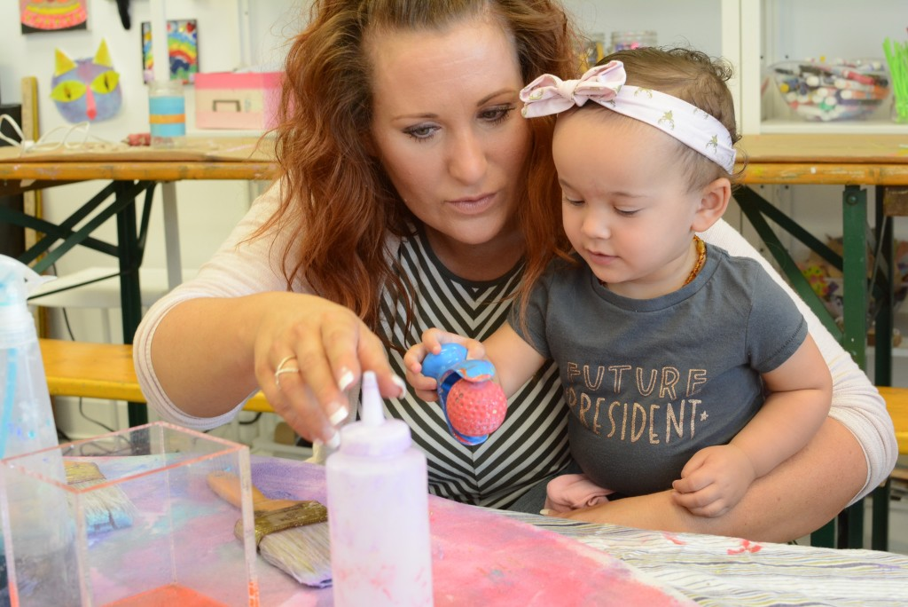 Toddler Art Play Group - A sensory experience for kids
