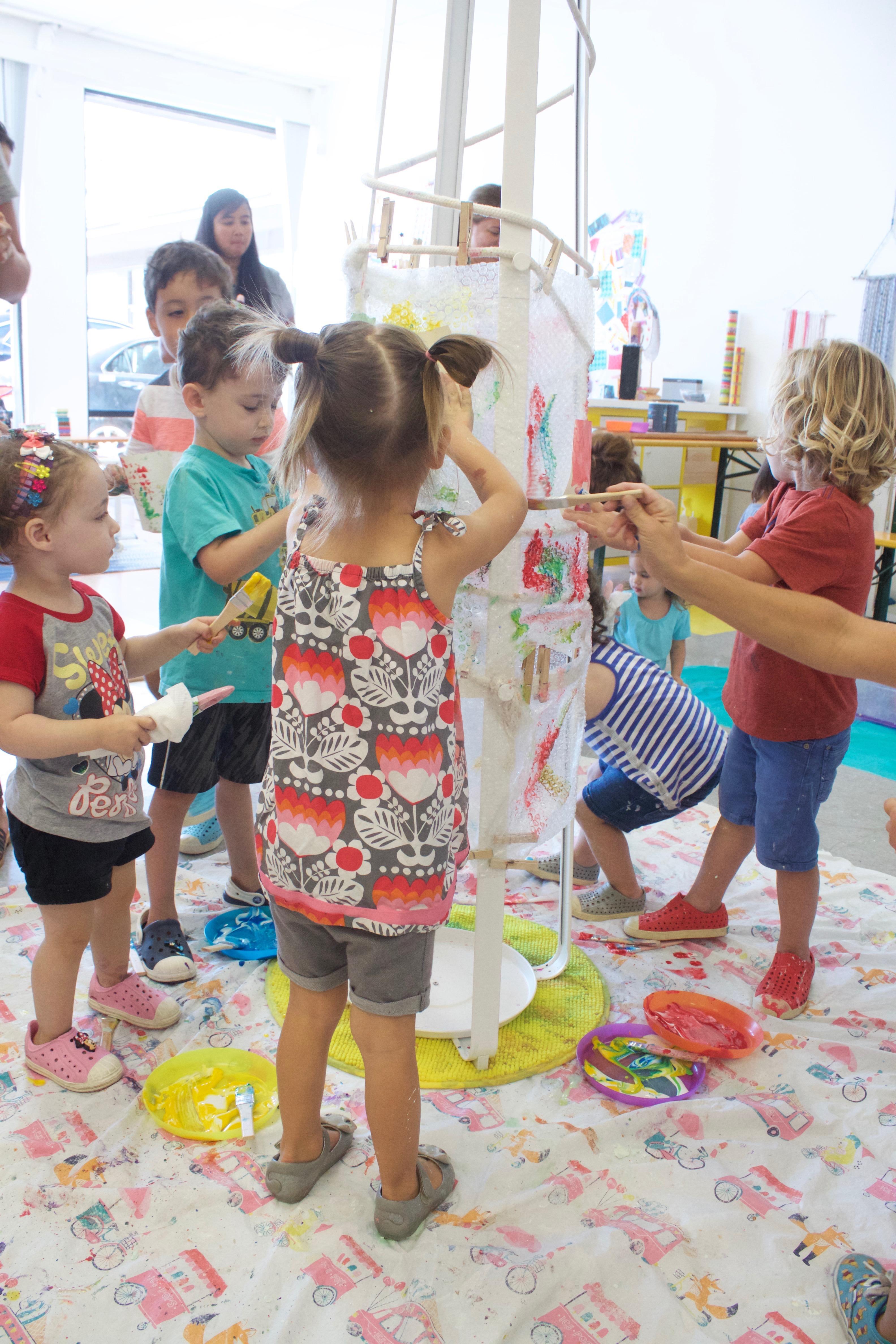 Meri cherry art studio meri cherry for Craft classes for toddlers