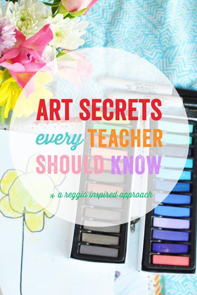 Art Secrets Every Teacher Should Know...a Reggio Inspired Approach