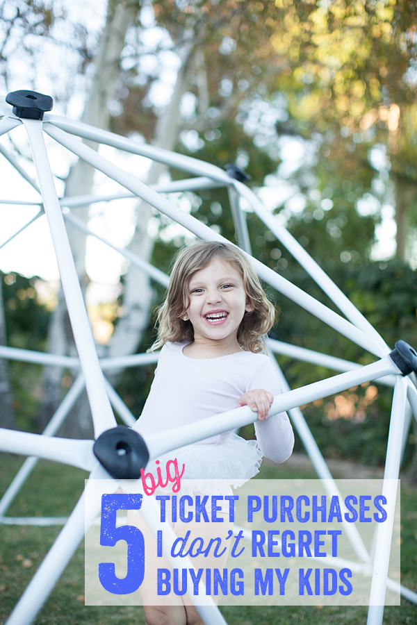 5 Big Ticket Items I Don't Regret Buying My Kids