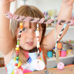Gratitude Mobiles make a great art project for kids, especially for Thanksgiving