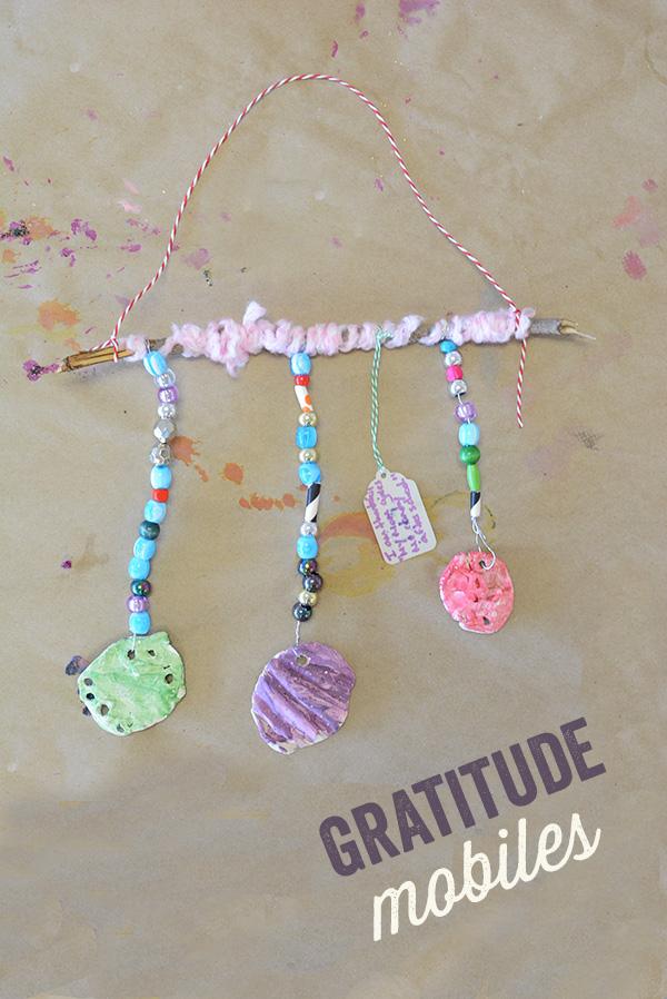 Gratitude Mobiles