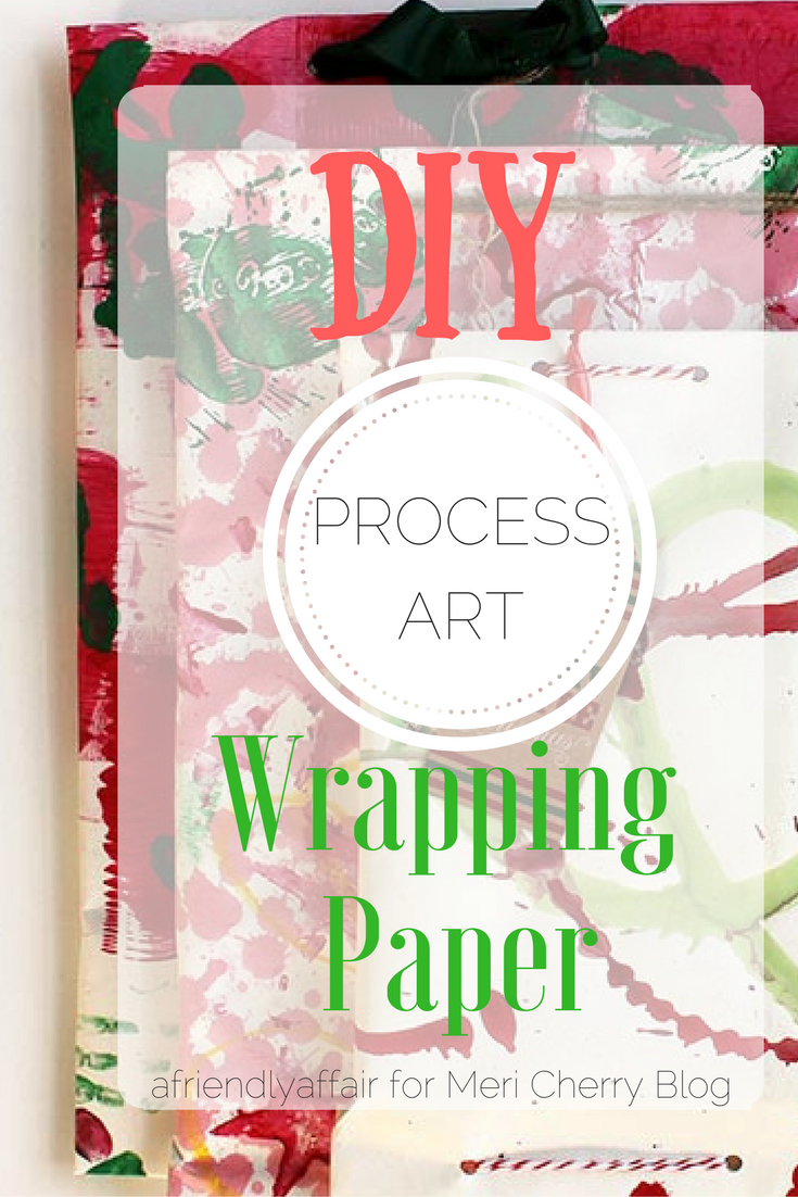 Holiday Wrapping Paper DIY