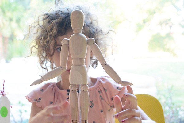 art mannequin for kids to draw