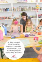 Meri Cherry Art Studio for Kids Highlights