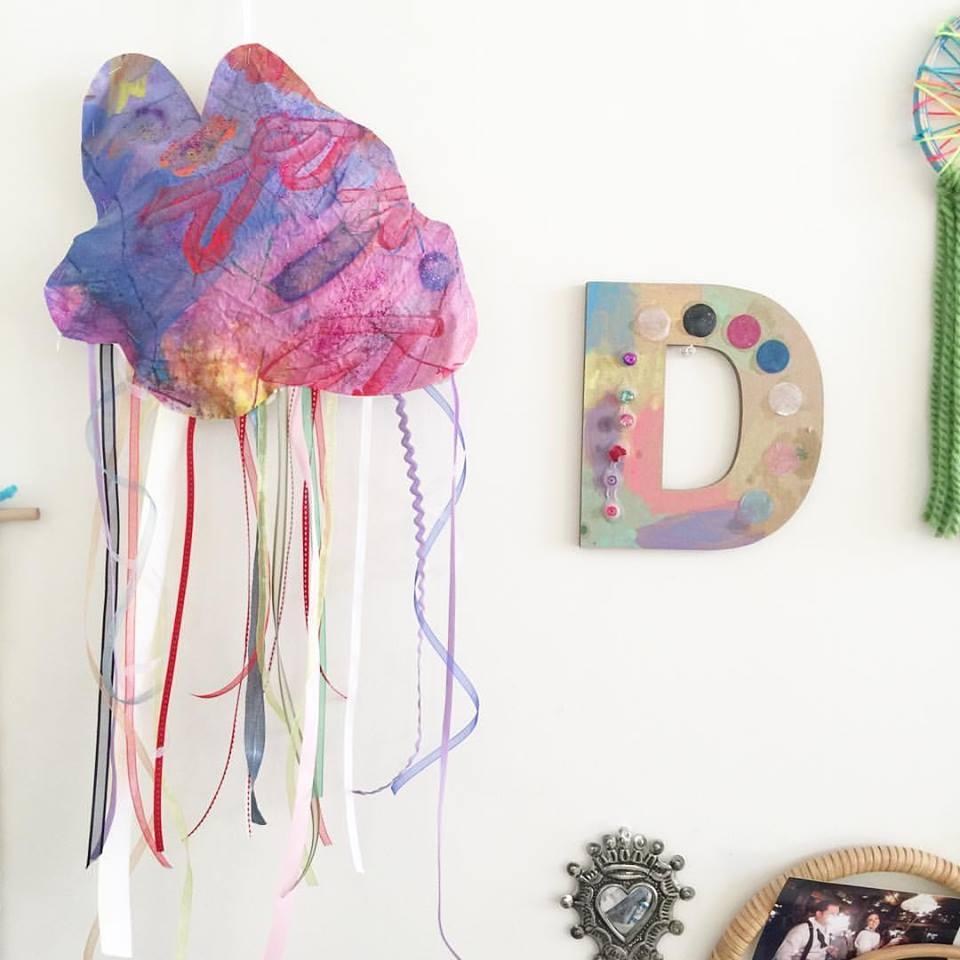 Make Puffy Rainbow Clouds