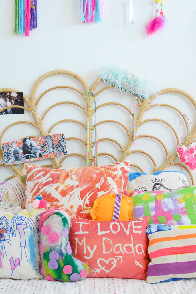 Making Pillows with Kids