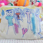 Making pillows with kids is super fun with limitless possibilities
