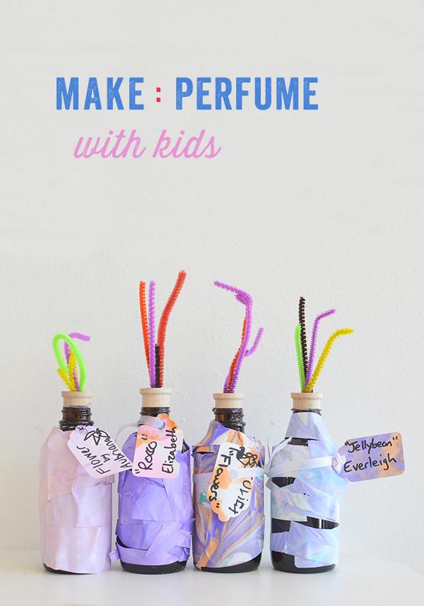 Making Perfume with Kids