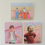 Family Photo Painting