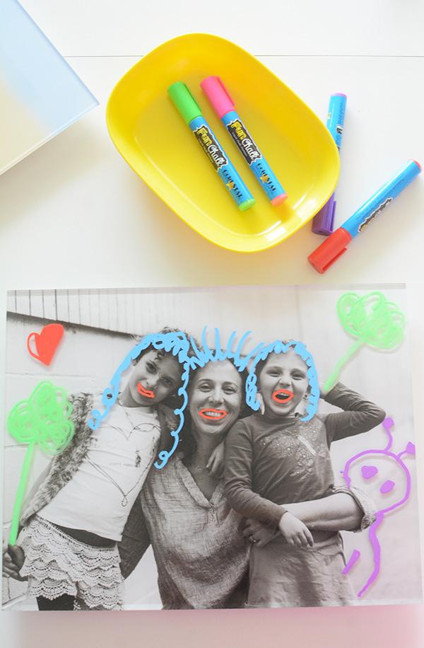 Temporary Family Photo Paintings
