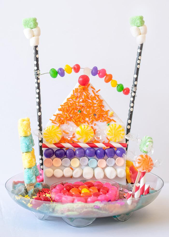 Candyland super candy craft for kids