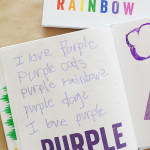 Process Art Rainbow Book for Kids - This is so cool!