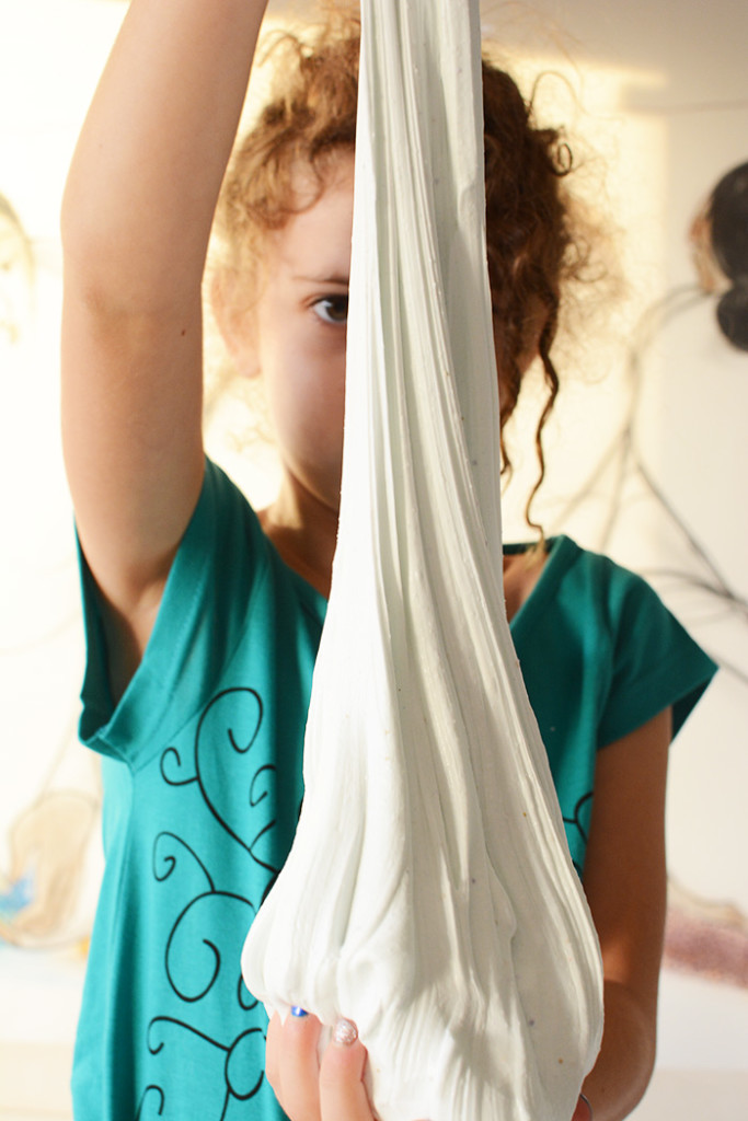 how to make safe slime with kids