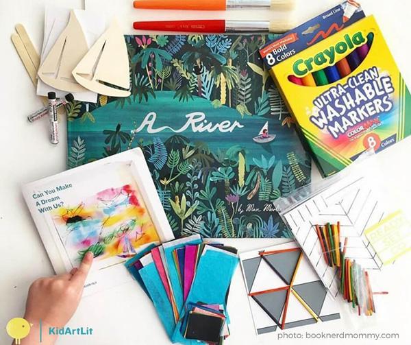 Kid Art and Literature Box