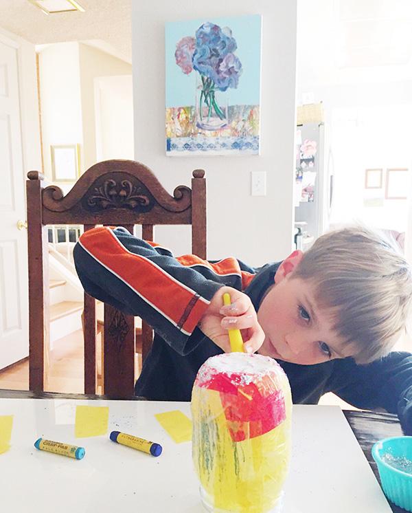 How to make a Gratitude Jar with kids