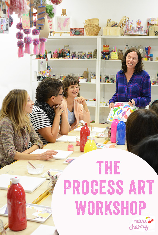 Live Process Art Workshop Tour