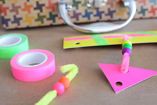 masking tape neon