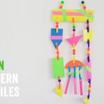 Neon Modern Mobiles for Kids