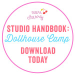How to Host Dollhouse Camp - Meri Cherry Art Studio Handbook