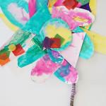 Process Art Paper Flowers