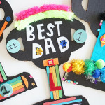 Great Art Project for Father's Day - Father's Day Trophies!