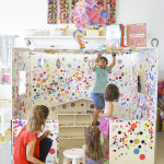 "Yayoi Kusama Inspired ""Dot House"" aka Obliteration Room"