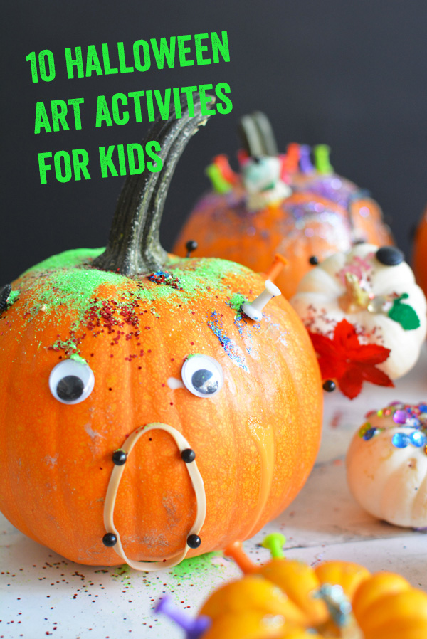 10 Halloween Art Projects for Kids