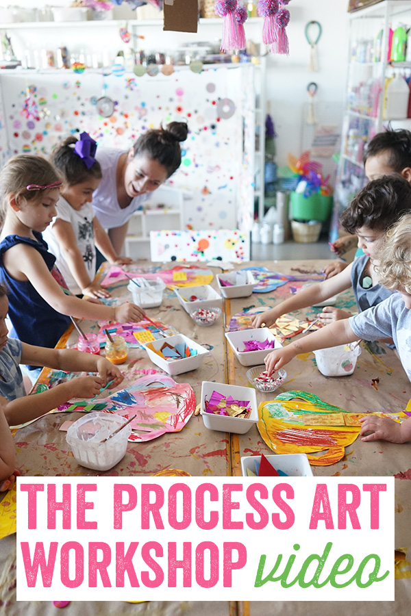 The Process Art Workshop Video , Meri Cherry