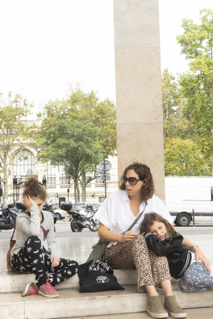 Family trip to Paris
