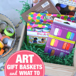 Art Gift Baskets for kids