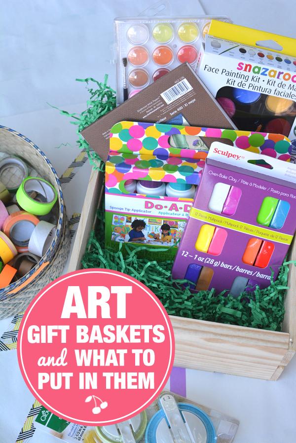 Art Gift Baskets for kids