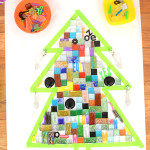 Holiday Temporary Mosaic Art for Kids