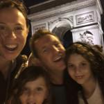 Family in Paris