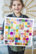 100th Day of School Art Project