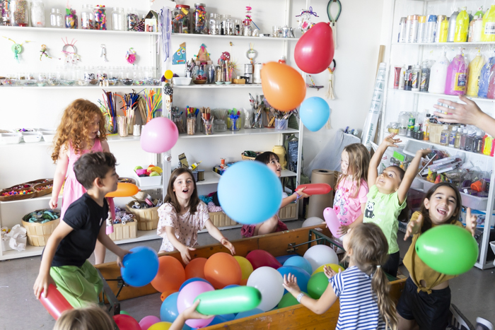 Easy Balloon Sculptures with Kids