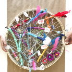Nature Wall Hanging Great for Collaborative School Projects