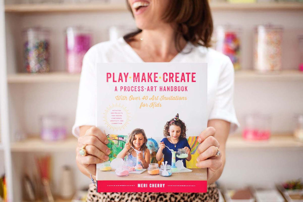 Meri Cherry Art Studio - Play Make Create Book Process Art Book Party