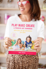 My Journey to Play Make Create, a Process Art Handbook